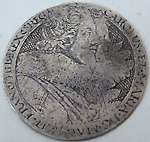 Charles I gaming counter Van De Pass circa 1625 Charles I Henrietta Maria Royal arms
