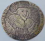 James I gaming counter Van De Pass circa 1620 James I Anne of Denmark